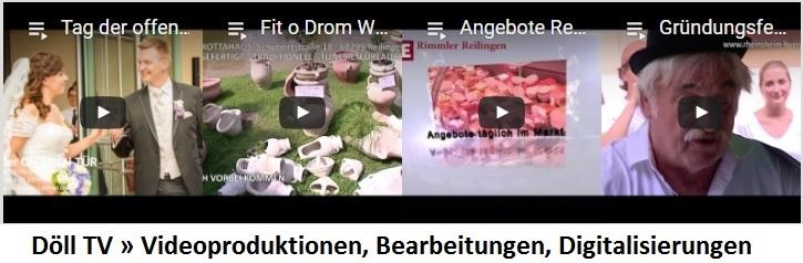 TVüberregional, Döll TV, Döll Video, Videoproduktion Wiesloch, Videoproduktion Döll, Dölltv,