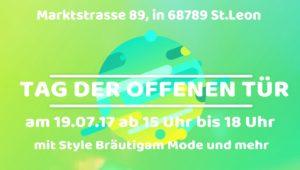 Tag der offenen Tür bei Style Bräutigammode & Mehr pippa&Jean, Marktstraße 89, 68789 St. Leon