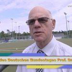WALLDORF: Bundestagspräsident Prof. Dr. Norbert Lammert zu Besuch bei Anpfiff ins Leben