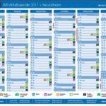 Abfallkalender AVR Müllabfuhrtermine Neulußheim Juli bis Dezember 2017