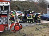 Neidenstein/Waibstadt: Zwei Schwerverletzte bei Frontalzusammenstoß; Fahrer eines roten Fahrzeuges gesucht