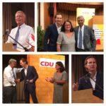 CDU: Mehr Mut zu Patriotismus,Wolfgang Bosbach sprach in Waghäusel / Kritik an Grünen-Politikerin Göring-Eckardt