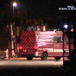 Mannheim Brand in Mehrfamilienhaus. Vermutlich war eine umgefallene brennende Kerze die Ursache…