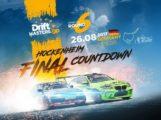 Hockenheimring,  DRIFTMASTERS GP, 25. August 9:00 bis 26. August 20:00, härteste herausfordernste Driftserie, Am Motodrom, 68766 Hockenheim