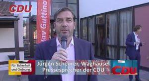 Jürgen Scheurer CDU Waghäusel Pressesprecher bei Olav Gutting und Wolfgang Bosbach - Waghäusel Lokal, TVüberregional