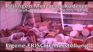 Metzgerei Kuderer, Reilingen, Catering, Hauseigene Schlachtung, Heimlieferservice, Wunschgerichte