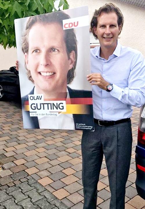 Olav Gutting CDU Bundestag, Deutschland schützen, Familie schützen, Einigkeit recht und freiheit, cdu sagt wahrheit