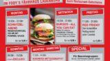 Restaurant Fodys Fährhaus Ladenburg, Wochenkarte, Mittagstisch, Burger Flatrate, Buffet, Brunch