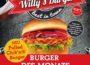 Willys Burger, Burger des Monats, Heimservice Fodys, Fodys@home, Restaurant Fodys Fährhaus Ladenburg, Wochenkarte, Mittagstisch, Burger Flatrate, Buffet, Brunch