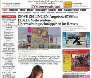 REWE REILINGEN Angebote 07.08 bis 13.08.17. Viele weitere Überraschungsschnäppchen im Rewe