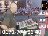Schall und Licht Event Service Reilingen, Beschallung, Bühnenvermietung, Mike Wolf