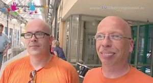 St. Leon im Harres, Jahs HELPING HANDS, Benefiz mit DJ. Tom Herbig - Filmbericht mit Interviews
