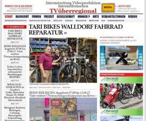TARI - BIKES Walldorf - Fahrrad Service Lokalfernsehen Wielsoch 500