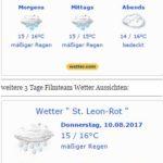 WARNLAGEBERICHT für Deutschlandausgegeben vom Deutschen Wetterdienstam Donnerstag, 10.08.2017, 21:00 Uhr