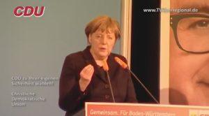 ASYLANTEN THEMA, Dr. Angela Merkel, Bundeskanzlerin und CDU wird von anderen Parteien ausgebremst