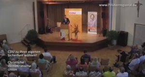 CDU, OLAV GUTTING, kämpft um den ERHALT des guten DEUTSCHEN STANDARDS