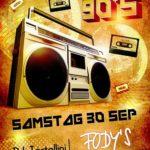 Ladenburg: BEST OF THE 90´s, DJ. TORTELLINI, 30.09; ab 21 Uhr im Fody´s Fährhaus