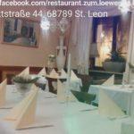 St. Leon, Griechisches Restaurant ZUM LÖWEN, Marktstrasse 44, Mittagstisch, Business Treffen, Gruppen willkommen, Abend genießen