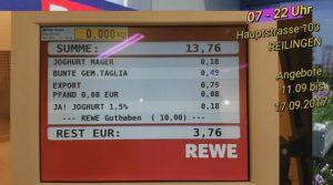 Rewe Reilingen, Angebote vom 11.09.2017 bis 17.09.2017 , Rewe Reilingen Payback - 10 Euro geschenkt bekommen - 500px , rewe werbung, tvüberregional, reilingengewerbe