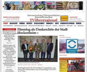 Stadt Hockenheim, Bürgermeister Jakob-Lichtenberg, Ute Schestag, Holger Schneider, Johannes Lienstromberg, Stefan Kalbfuss, TVüberregional, Hockenheim Bürgerzeitung Döll 500px