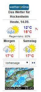 Wetter, Nachrichten, Vorhersage Donnertstag, TVüberregional, Oliver Döll, Videoproduktion, Videokassetten kopieren, Privatvideo Produktion,