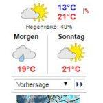 WARNLAGEBERICHT für Deutschlandausgegeben vom Deutschen Wetterdienstam Freitag, 08.09.2017, 11:15 Uhr