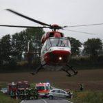 Mühlhausen,Angelbachtal, B39: Drei Personen bei Frontalzusammenstoß schwer verletzt; Eine davon lebensgefährlich