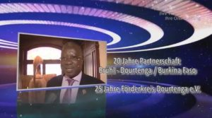 TV-Bericht Afrikatage-Brühl: 20 Jahre Partnerschaft Brühl - Dourtenga + 25 Jahre Förderkreis Dourtenga e.V.