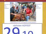 Das letzte mal in 2017: Halloweenfest, Spanferkel Hoffest bei PICHLER am 29.10.