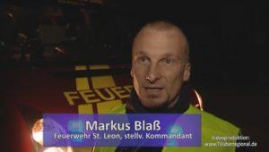 St. Leon-Rot, Rhein-Neckar-Kreis: Brand in Einfamilienhaus um 3 Uhr früh, - keine Verletzten - 60 Wehrleuten und neun Fahrzeugen im Einsatz