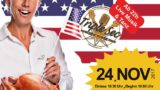 "Original American Thanksgiving mit ""Die Kelly"", 24. 11.2017 in EVENTFABRIK-A2 in Weinheim"
