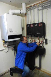Zuverlässige Wärme im Dorfgemeinschaftshaus garantiert eine Gas-Brennwert-Heizungsanlage