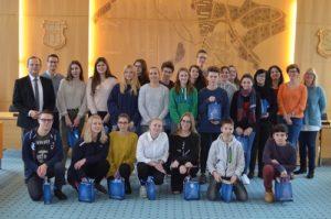 Hockenheim und Umgebung kennenlernen,21 Schüler aus Commercy ...