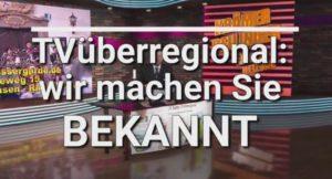 TVüberregional Preise nach Vereinbarung der entsprechendengewünschten Leistung.