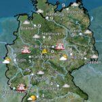 WARNLAGEBERICHT für Deutschland.Entwicklung der WETTER- und WARNLAGE für die nächsten 24 Stundenbis Dienstag, 26.12.2017, 11:00 Uhr: