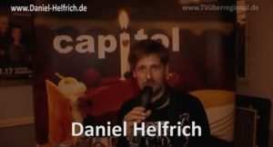 """Daniel Helfrich: """"Eigentlich bin ich ja Tänzer""""nominiertfür den""""Fränkischen Kabarettpreis 2018"""", TOURDATEN hier zu sehen. JETZT BUCHEN."""