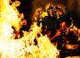 Wiesenbach: Kellerbrand mit einer verletzten Person