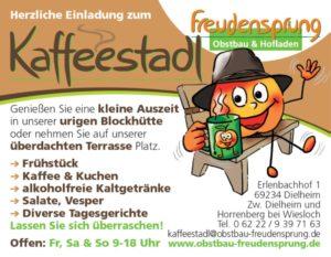 Freundensprung Kaffeestadl Dielheim