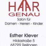 Ihr Friseur in Reilingen: HAARGENAU, verwöhnen im Salon oder Heimservice