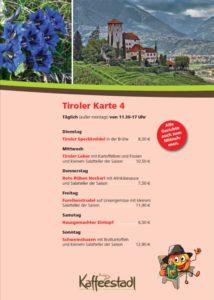 Kaffeestadl, Dielheim, Woche 5, bei Freudensprung täglich ländlich ESSEN. ALLE SPEIßEN auch zum mitnehmen: