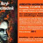 Arcyl-MischtechnikKREATIV-WORKSHOP am 3.2.2018 in Heidelberg