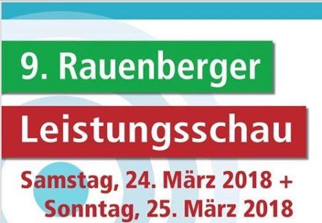 Gewerbeschau Leistungsschau Rauenberg 24. 3. 2018 und 25. 3. 2018in derMannaberghalle und Kulturhalle in Rauenberg