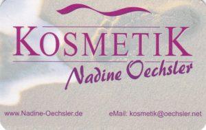 Kosmetik Salon Waghäusel, Nadine Oechsler, Blumenstraße 29 - 31, Telefon 07254-950324