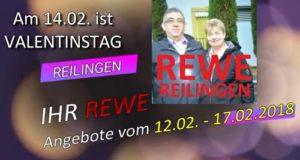 Rewe Reilingen, Angebote ab 12.02 bis 17.02.2018, Kauf da, in Deinem Ort, Gewerbe Reilingen