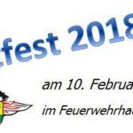 SCHLACHTFEST FEUERWEHR RAUENBERG 2018 ab 10:30 Uhr