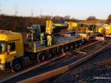 Sinsheim: Liegengebliebener Schwertransport wegen Reifenbrand – A 6 ab 12 Uhr wieder frei – Rückstau aktuell zehn Kilometer