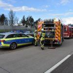 Reilingen / BAB 6: Auffahrunfall mit drei Verletzten