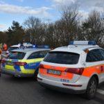 Reilingen: Motorradfahrer missachtet Vorfahrt – Unfall im Kreuzungsbereich