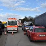 BAB 6 Kilometerlanger Stau nach schwerem Verkehrsunfall