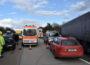 St. Leon-Rot/Rhein-Neckar-Kreis: Unfall an Stauende auf A 6 – Klein-Lkw fährt Sattelzug auf – 22-Jähriger leicht verletzt – Sachschaden ca. 40.000 Euro
